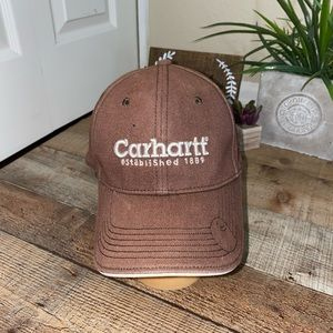 Carhartt hat brown established 1889